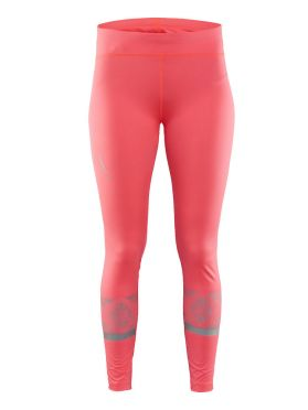 Craft Brilliant 2.0 Laufhose Tight Rosa Damen