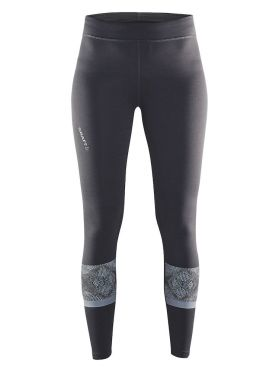 Craft Brilliant 2.0 Laufhose Tight Grau Damen