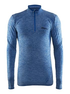 Craft Active Comfort Zip lange Ärmel Unterwäsche Blau/sweden Herren