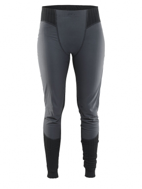 Craft Active Extreme 2.0 Windstopper Ünterhose Lang Schwarz Damen
