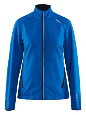 Craft Mind Blocked Laufjacke Blau Damen