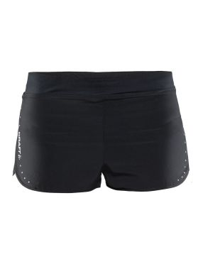 "Craft Essentials 2"" Laufshort Schwarz Damen"