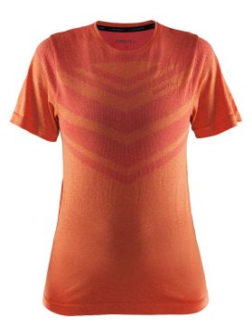 Craft Cool comfort Kurzarm Unterwäsche Orange/Push Damen