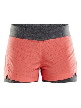 Craft Breakaway 2-in-1 Laufshort Rosa Damen