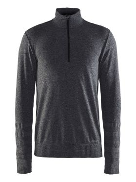 Craft Smooth halfzip Ski Pullover Grau Herren