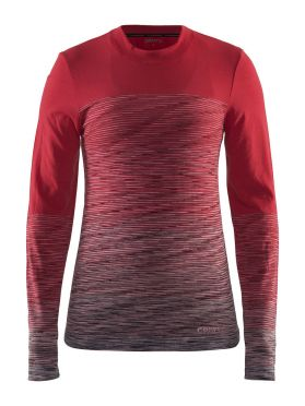 Craft Wool Comfort 2.0 Langarm Unterwäsche Rot Damen
