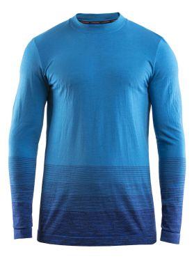 Craft Wool Comfort 2.0 Langarm Unterwäsche Blau Herren