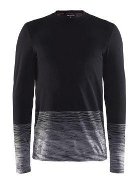 Craft Wool Comfort 2.0 Langarm Unterwäsche Schwarz Herren