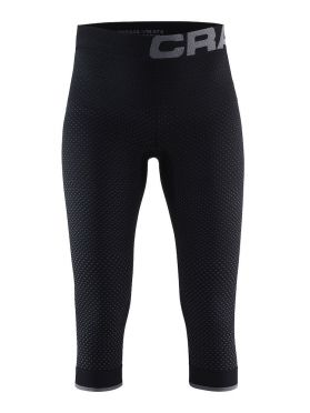 Craft warm intensity 3/4 Ünterhose Schwarz Damen
