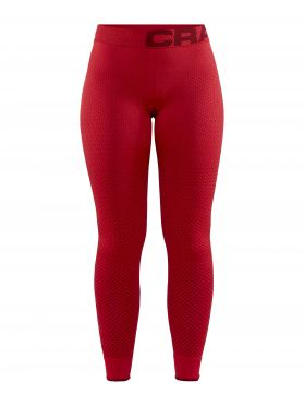Craft warm intensity Ünterhose lang Rot Damen
