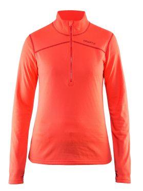 Craft Pin halfzip Ski Pullover Rosa Damen