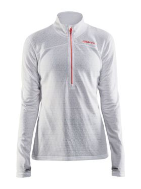 Craft Pin halfzip Ski Pullover Weiß Damen