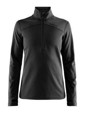 Craft Pin halfzip Ski Pullover Schwarz Damen