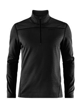 Craft Pin halfzip Ski Pullover Schwarz Herren