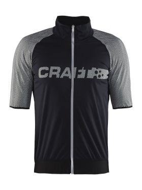 Craft Shield 2.0 Radtrikot Schwarz Herren