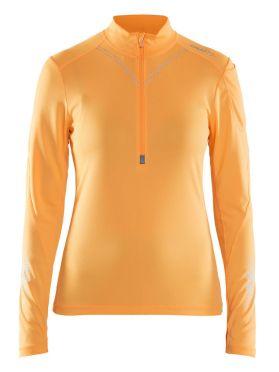 Craft Brilliant 2.0 halfzip Ski Pullover Orange Damen