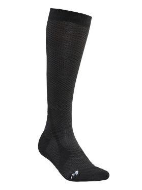 Craft Warm Hohe Socken Schwarz
