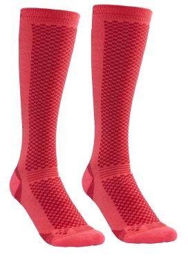 Craft Warm Hohe Socken Rosa 2-pack