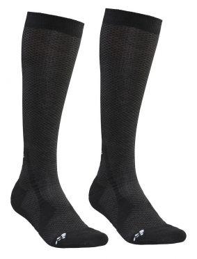 Craft Warm Hohe Socken Schwarz 2-pack