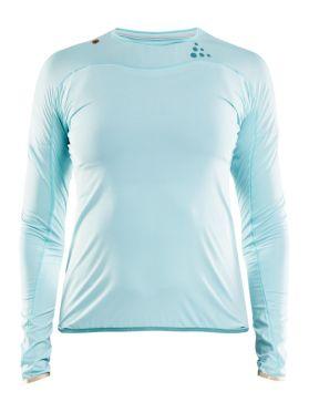 Craft Shade Langarm Laufshirts Blau Damen