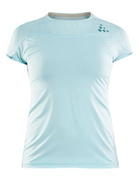 Craft Shade Kurzarm Laufshirts Blau Damen