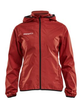 Craft Rain Trainingsjacke Rot Damen