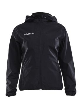 Craft Rain Trainingsjacke Schwarz Damen