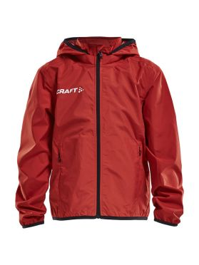 Craft Rain Trainingsjacke Rot Kinder