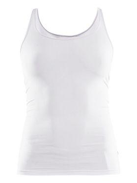 Craft Essential Singlet Ärmellos Unterhemd Weiß Damen
