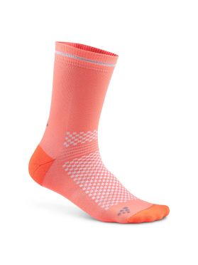 Craft Visible Socken Rosa