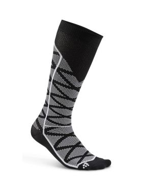 Craft Compression pattern Laufsocken Schwarz unisex