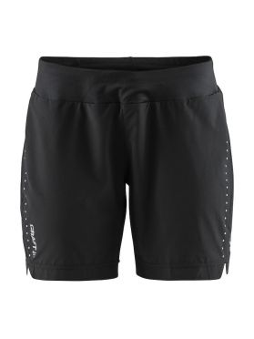 Craft Essential 7 inch Laufshort Schwarz Damen