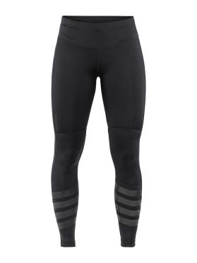 Craft Urban run Laufhose Tight Schwarz Damen