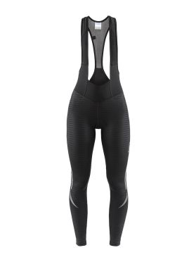 Craft Ideal Thermal bibtight Radhose Schwarz/Streifen Damen