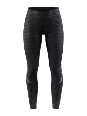 Craft Ideal Thermal tight Radhose Schwarz/Streifen Damen