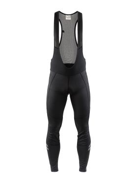 Craft Ideal wind bibtight Radhose Schwarz Herren