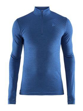 Craft Fuseknit comfort zip Langarm Unterwäsche Blau Herren