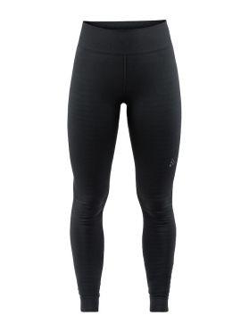 Craft Warm comfort lange Unterhose Schwarz Damen