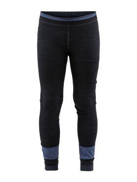Craft Active Fuseknit Comfort lange Unterhose Schwarz Kinder