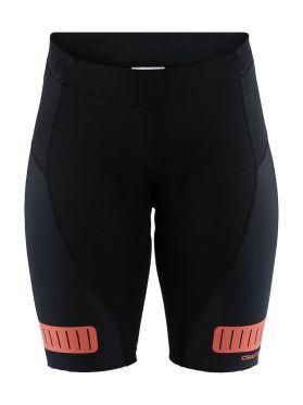 Craft Hale glow Shorts Radhose Schwarz/boost Damen