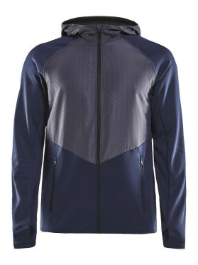 Craft Charge Sweat hood Laufjacke Blau Herren