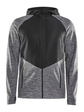 Craft Charge Sweat hood Laufjacke Grau Herren