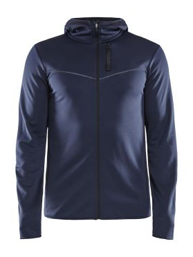 Craft Eaze FZ sweat hood Laufjacke Blau Herren