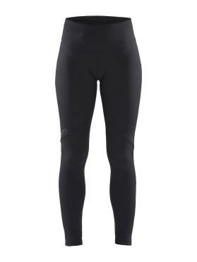 Craft Essential warm Laufhose Tight Schwarz Damen