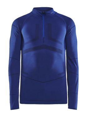 Craft Active Intensity zip Langarm Unterwäsche Blau Damen