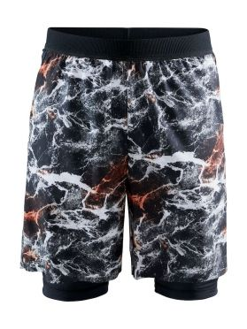 Craft Vent 2 in 1 Racing Laufshort Multi Herren