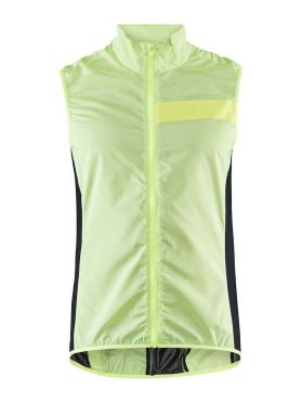 Craft Essence Light Wind vest Radjacke Gelb Herren