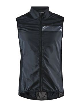 Craft Essence Light Wind vest Radjacke Schwarz Herren