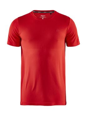 Craft Fuseknit light Kurzarm Unterhemd Rot Herren