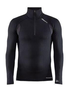 Craft Active extreme X Zip Unterhemd langer Ärmel Schwarz Herren